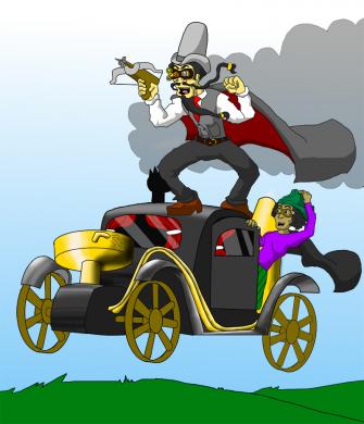 Inspecto: Alchemist Steampunk Detective Wizard