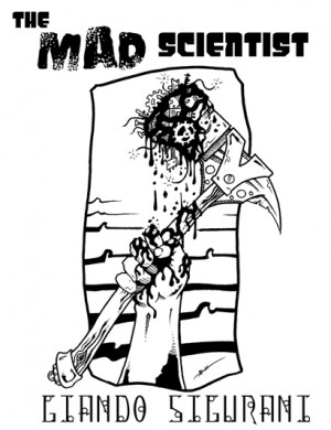 The Mad Scientist now has a bitchin' cover!