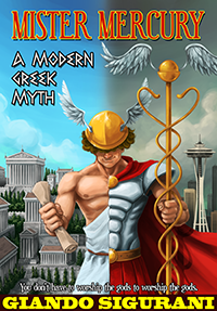 Book about gods in modern times